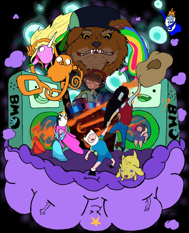 Adventure Time Party Poster.jpg